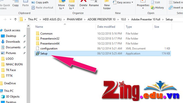 Hướng Dẫn Cách Cài Đặt Phần Mềm Adobe Presenter 10 0 - Zing edu vn