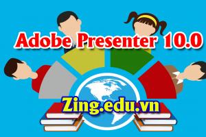 Tải phần mềm thiết kết elearning Adobe Presenter 10