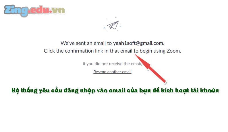 Kích hoạt tài khoản zoom meeting cho giáo viên