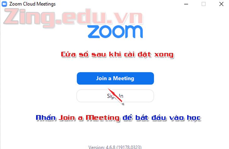 học sinh học trực tuyến qua zoom meeting