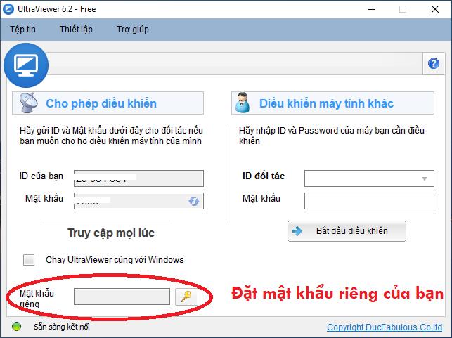id và mật khẩu ultraviewer mới nhất